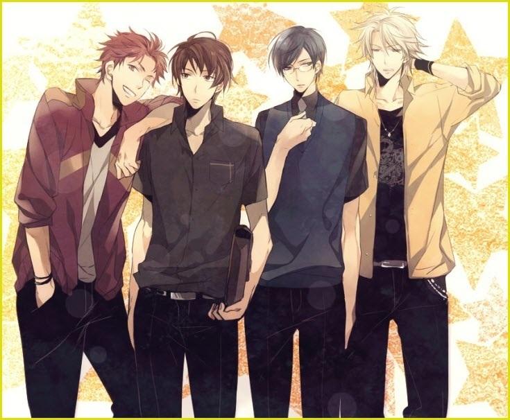 Картинки аниме парней из разных аниме