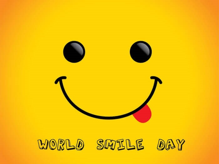Прикольные, открытки 4 октября всемирный день улыбки