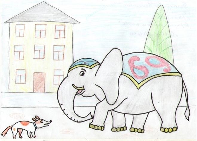олки картинки басен крылова слон и моська этого типа могут