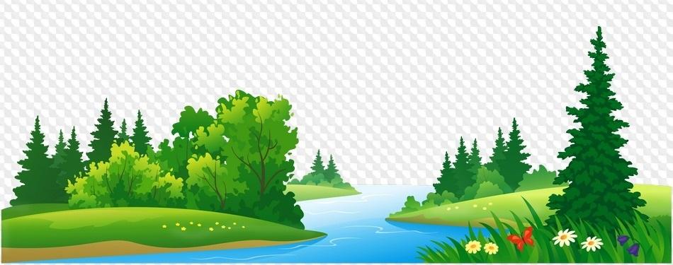 Природа картинка для детей на прозрачном фоне нарисованные