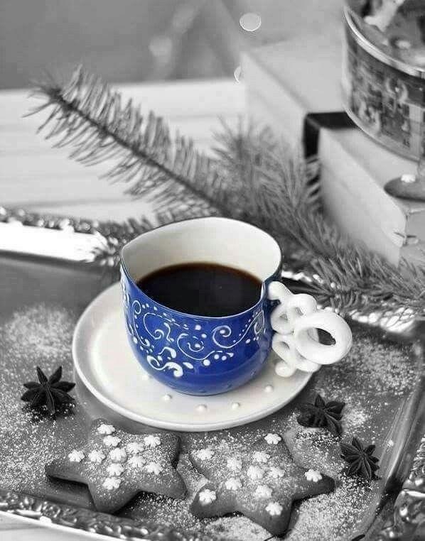 Зимние картинки фото с добрым утром