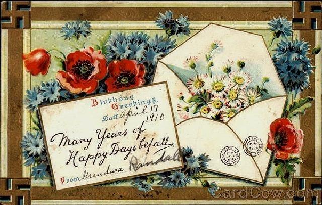 Открытки и поздравления с днем рождения из россии на английском