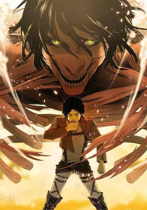 Подборка | аниме атака титанов картинки Эрена