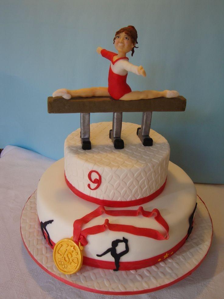 картинки торта с гимнасткой школы